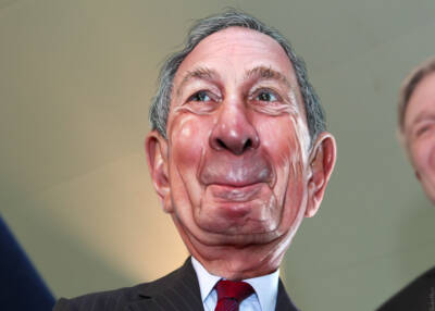 Michael Bloomberg caricature by DonkeyHotey