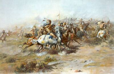 Battle of the Little Big Horn Charles Marion Russell