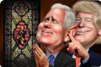 Mike Pence Plans Gigantic National Exorcism to Combat Coronavirus