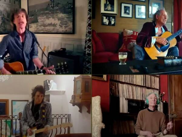 Rolling Stones remote performance