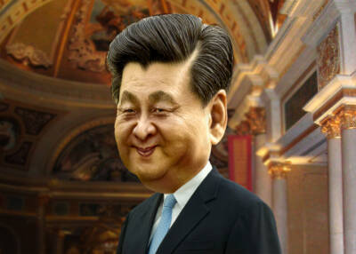 Xi Jinping DonkeyHotey