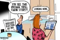 Here They Come: Those Russian Trolls!