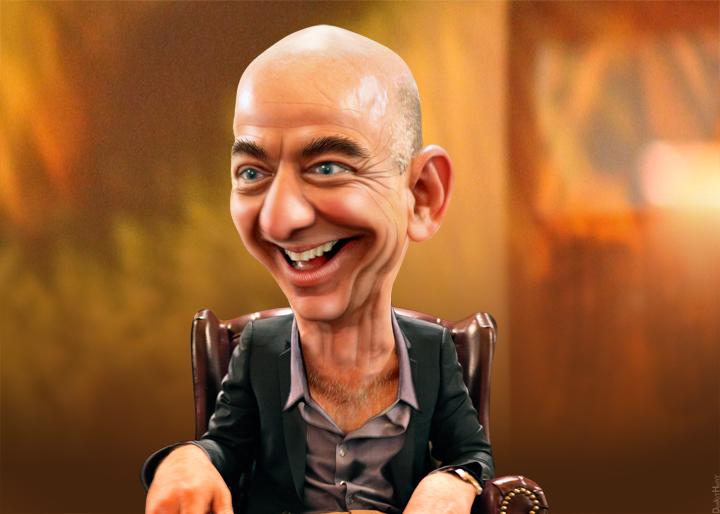 Jeff Bezos DonkeyHotey