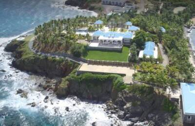 contingency plans Jeffrey Epstein's private island