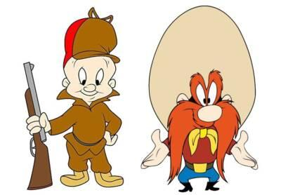 Looney Tunes characters carry firearms