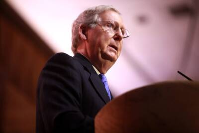 negotiations stall, Mitch McConnell