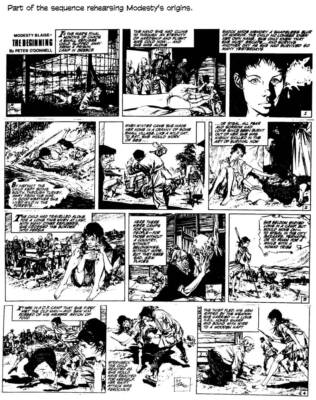 Modesty Blaise, last great adventure strip