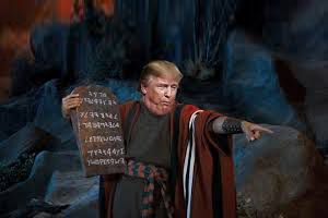 Trump's TOP 10 Commandments
