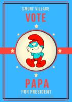 Vote Smurf No Matter Smurf