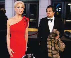 Kellyanne Conway & husband George