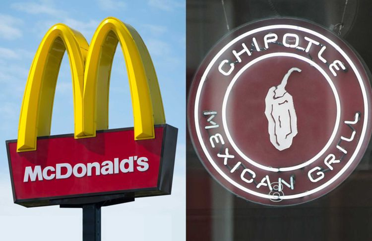 McDonald's and Chipotle