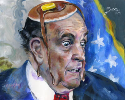 Giuliani jerk reactions
