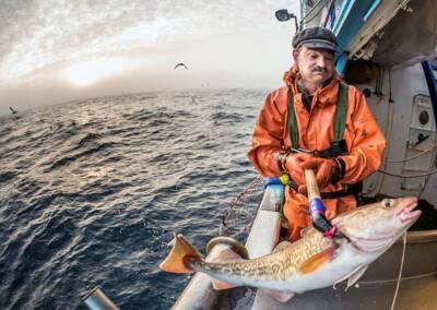 Alaskan fisherman