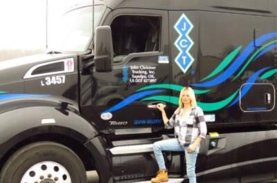 Alaskan truck driver