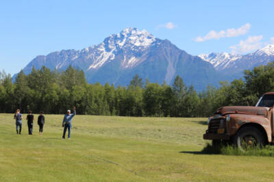 Alaskan farmer