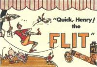 Funnies Farrago Meets Dr. Seuss, Henry and — The Flit!