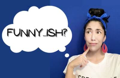 Rising comedy talent Erin McCluskey