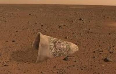 taking credit Mars Landing