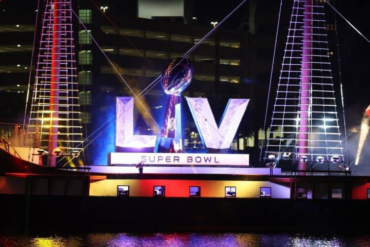 Super Bowl LV: Tampa Bay 31; KC 9