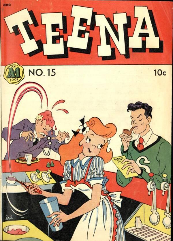 Funnies Farrago on Hilda Terry and the All-Boys Club