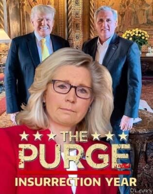 The Purge of Liz Cheney