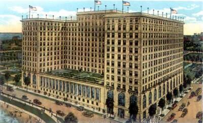 Drake Hotel, postcard 1920