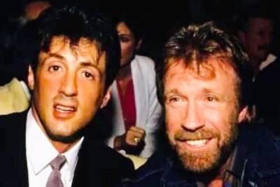 Chuck Norris, Sylvester Stallone