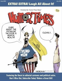 Humor Times current issue cover