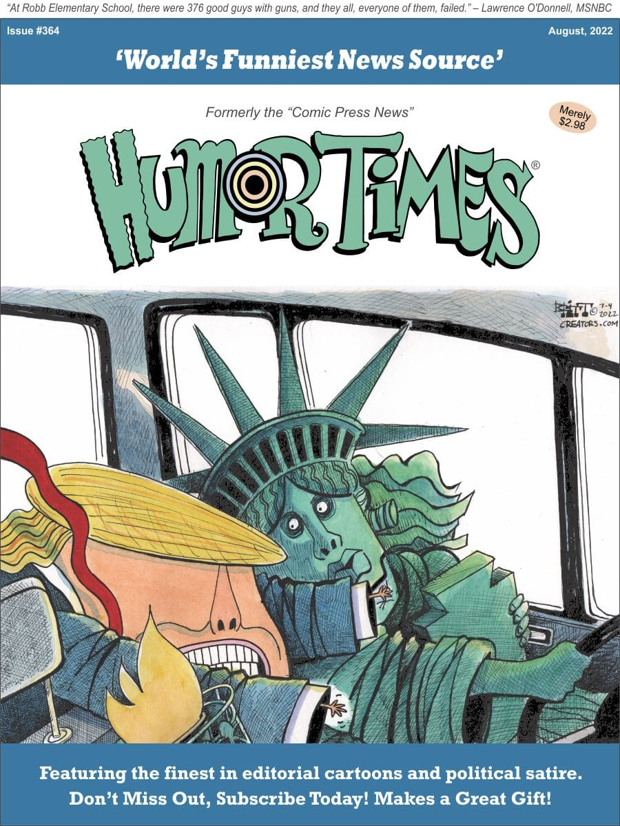 Current cover, Humor Times
