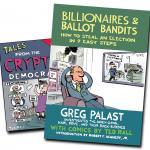 Greg Palast Introduces His New Book, 'Billionaires & Ballot Bandits'